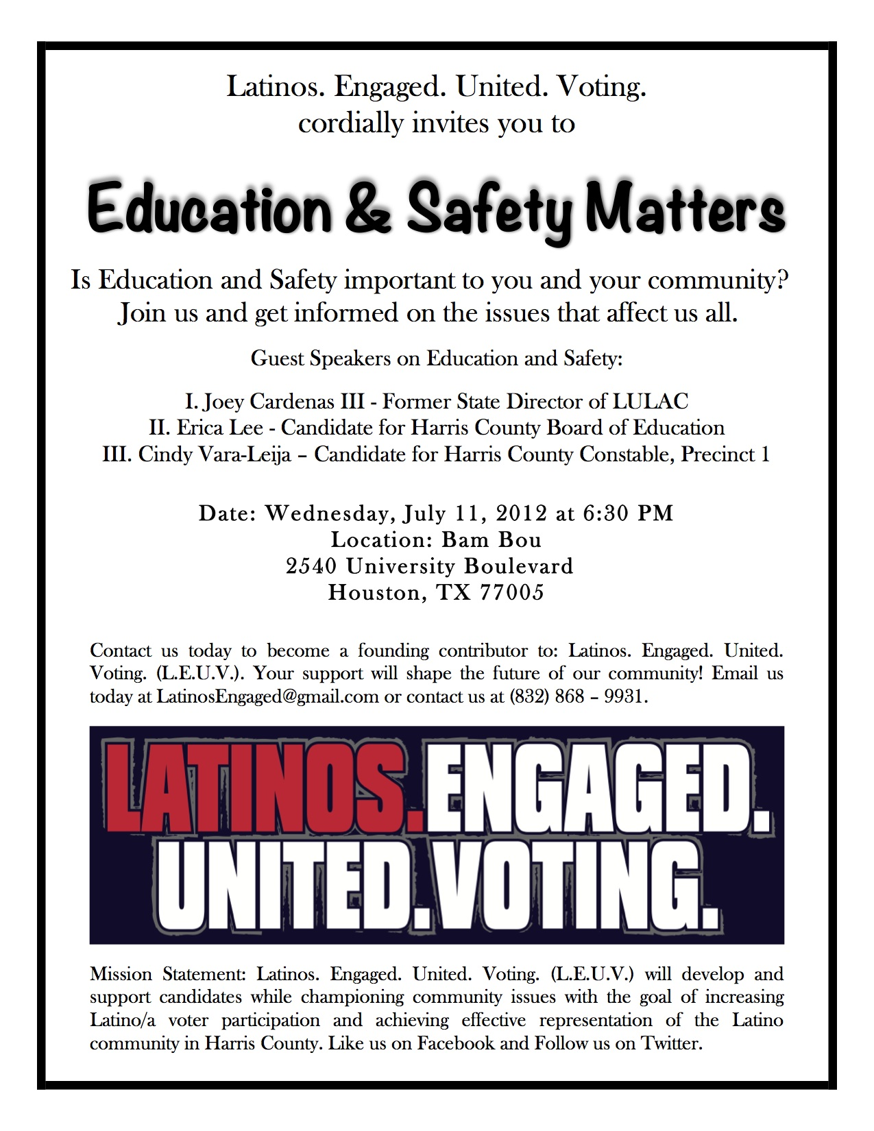 education matters Education matters is a 30-minute program created by the public school forum of  north carolina to provide the public with the real facts about the state of public.
