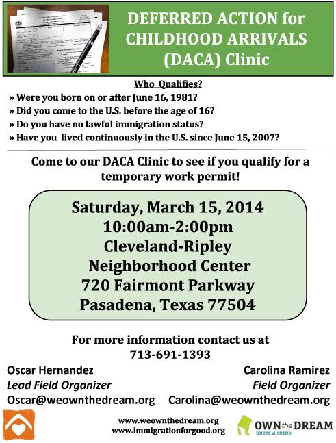 OTD Clinic Flyer -English