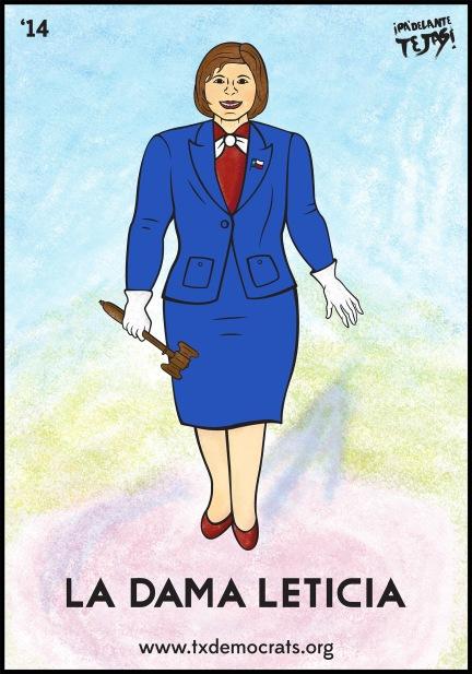 La Dama Leticia Small