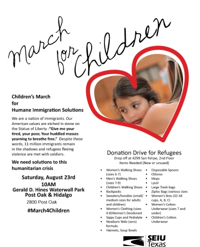 March for Children Leaflet-Partners-1