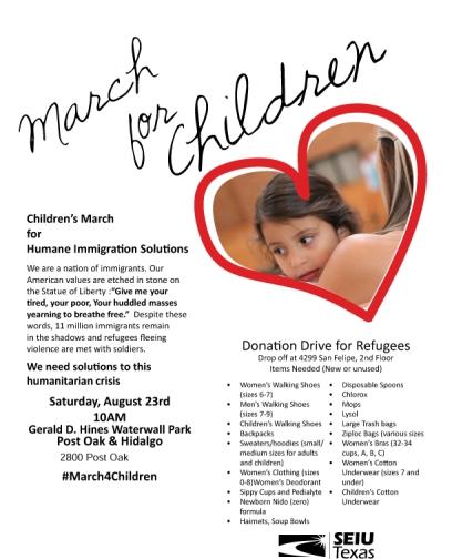 March for Children Leaflet-Partners-1